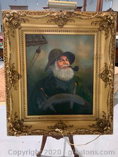Kim Benson –Sailor Oil Painting