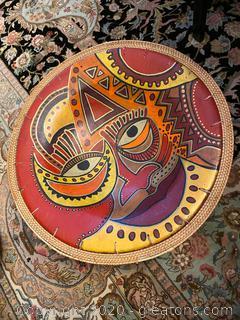 Large Decorative Bowl by Charles Bibbs