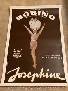 Bobino-Josephine Baker Original Poster