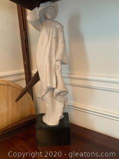 Austin Prod. Woman Sculpture