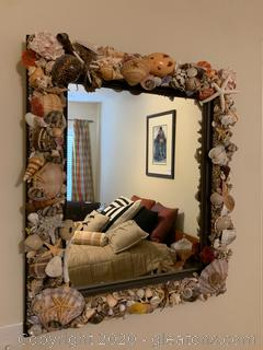 Hand Decorated Wall Mirror
