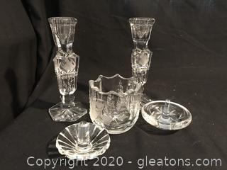Crystal lot of 5
