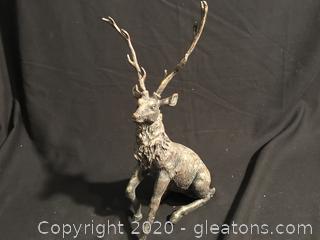 Beautiful Elk statue
