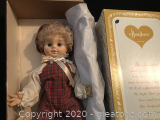 Vintage Collectable  Effenbee Doll in box
