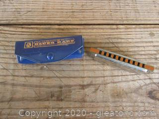 Vintage M. Hohner Blues Harp Harmonica made in Germany