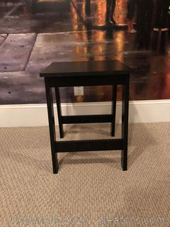 Black End Table A