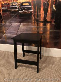 Black End Table B