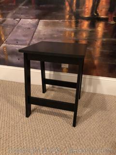 Black End Table C