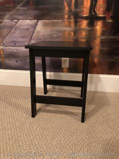 Black End Table D