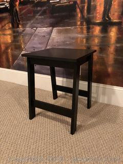 Black End Table E