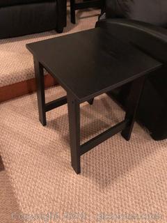 Black End Table F
