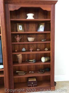 Handcrafted Cherry Book Shelf A