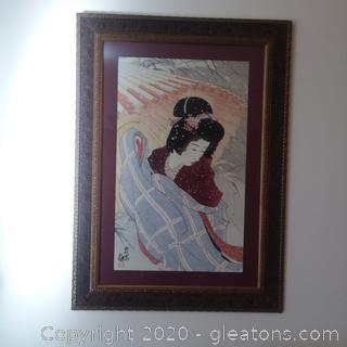 Beautifully Framed Asian Art