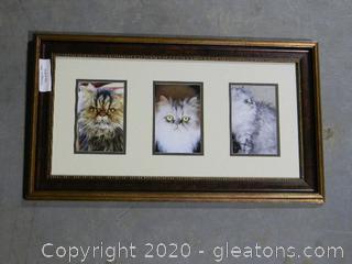 Cat wall Print