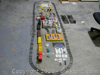 Vintage Train Set And More