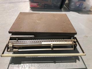 Antique Chatillon Mechanical Beam Scale