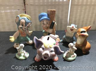 Adorable Ceramic and China Pieces