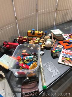 Large Mixed Lot of Small Toys
