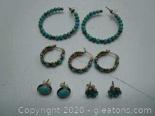 Collection Turquoise Earrings