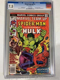 Graded Marvel Comic Book