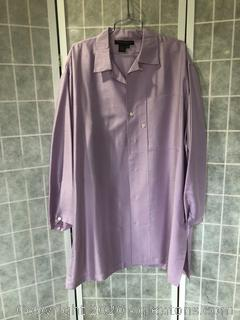 100% Silk Pajama Top By Donna Karan Intimates (Size M/L)