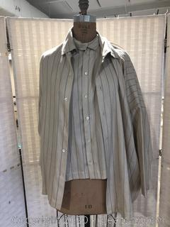 Shirt And Jacket Ensemble By Eskandar (Neiman Marcus Size 1)