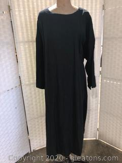 Black Mid-Calf Dress By Eskandar (Neiman Marcus Size 2)
