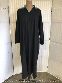 Black Pull-Over Dress By Eskandar (Neiman Marcus Size 1)