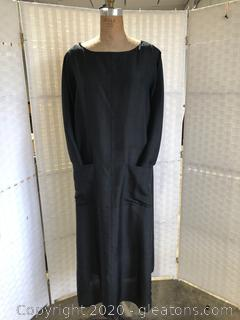 Long Black Gown By Donna Karan Intimates (Size M/L)