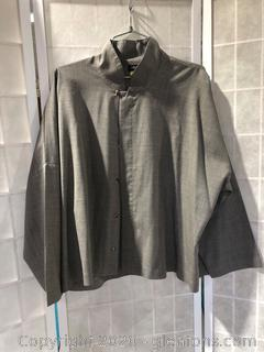 Cape-Length Jacket By Eskandar (Neiman Marcus Size 1 )