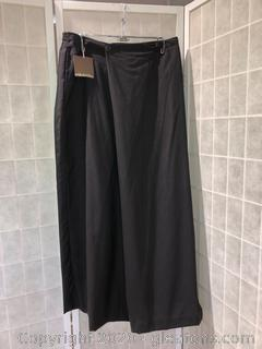Dark Brown Trousers By Eskandar NWT (Neiman Marcus Size 3)