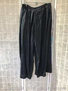 Black Pants By Eskandar (Neiman Marcus Size 3)