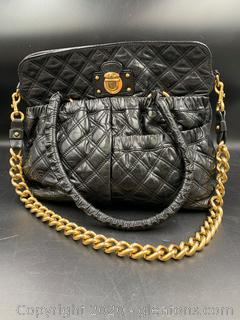 Marc Jacobs Quilted Leather Satchel Bag