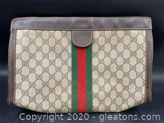 Gucci Vintage Velero Toiletry Bag