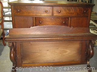 Italian Renaissance-Style Antique Buffet/Sideboard