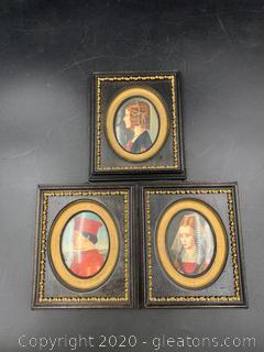 Italian Renaissance Styled Portrait Wall Art