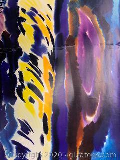 Siegward Sprotte Neo Impressionistic Seascape Print