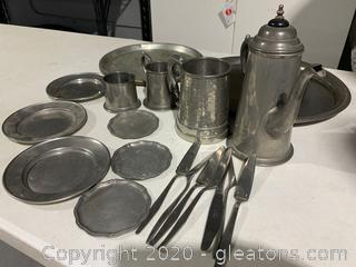 English Pewter Collection