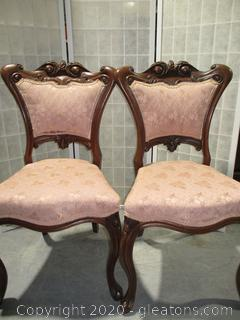 Pair Of Antique Parlor Chairs (2)