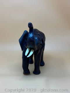 Black Elephant Figurine