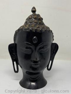 Bronze Buddha Head (Large)