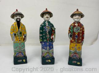 Neiman Marcus Chinese Porcelain Figurines (A)