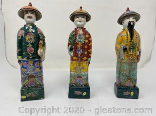Neiman Marcus Chinese Porcelain Figurine (B)