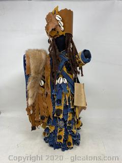 Handmade African Doll
