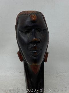 Wooden Carved Face