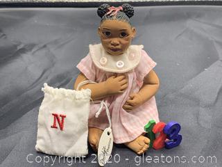 "Daddy's Babies Alphabet Babies ""N"""