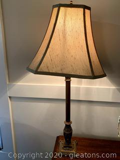 Candlestick Lamp