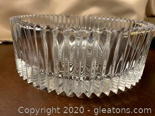 "9"" Crystal Bowl"