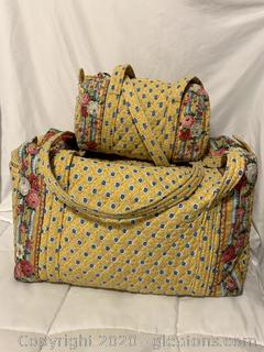 Vera Bradley Retired Elizabeth Pattern Bags