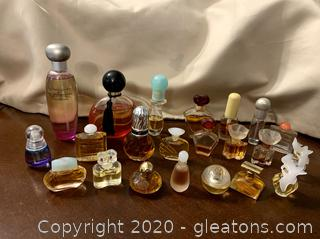 Mini Perfume Bottles Lot of 24